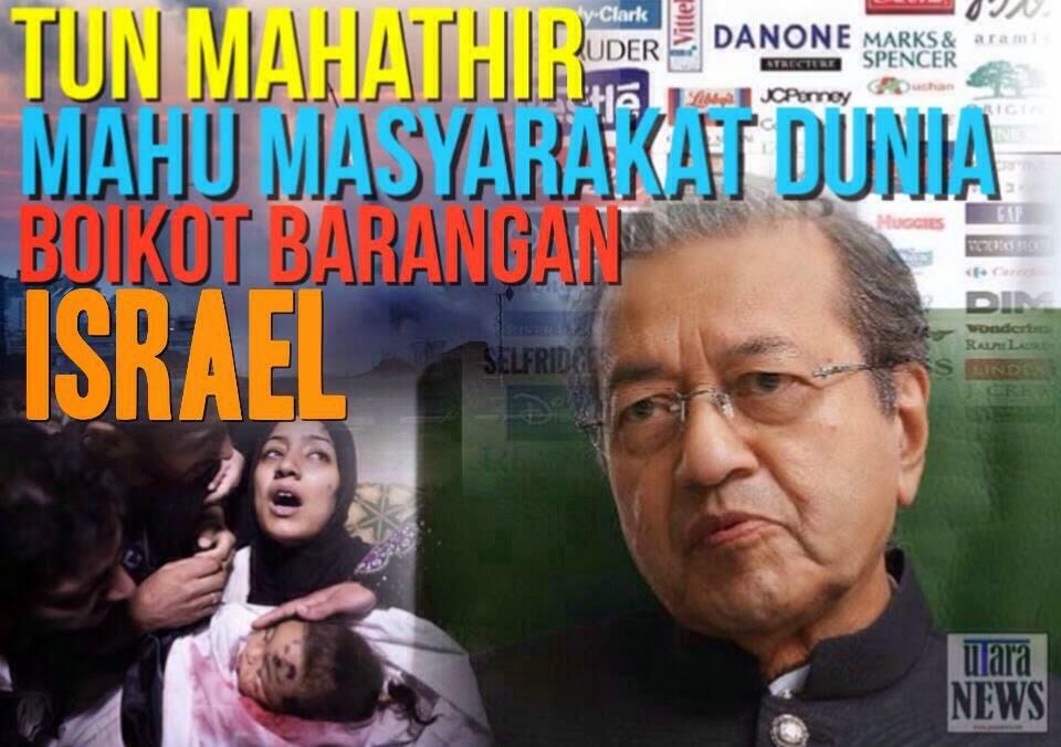 Mahathir Kutuk Yahudi