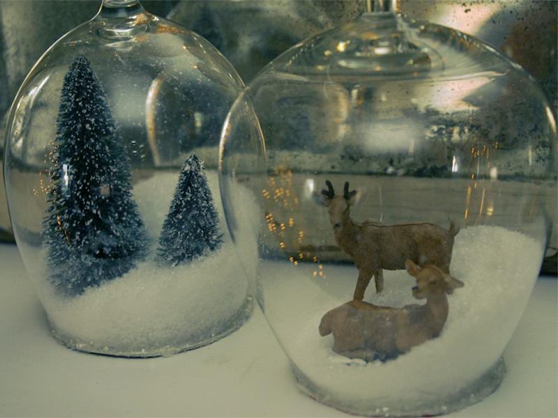 Снежные шары  из банки