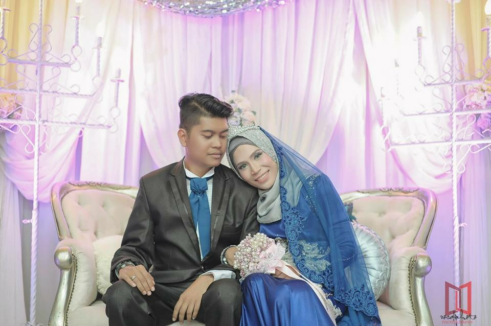 My weading at husband house 12 Sept 2015