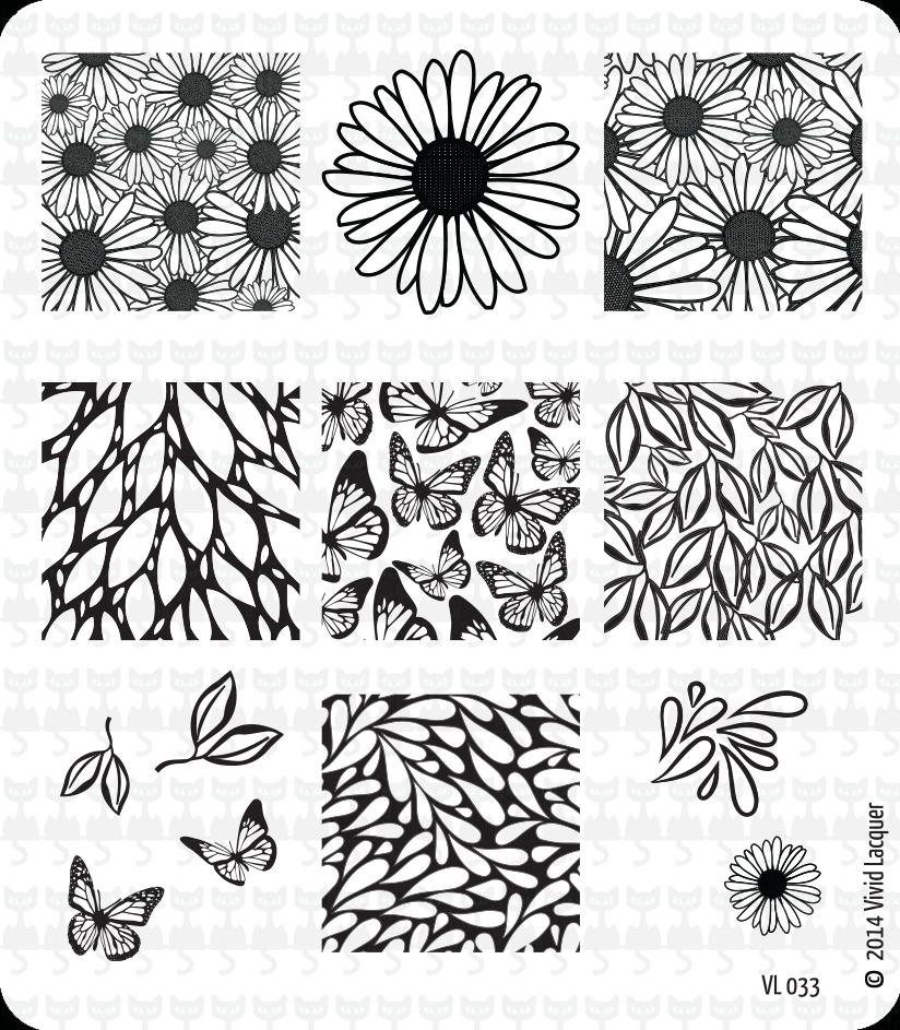 Lacquer Lockdown - Vivid Lacquer nail art stamping plates, nail art stamping blog, VL35, VL34, VL33, VL32.  nail art stamping, new stamping plates 2014, new nail art stamping plates 2014, new nail art image plates 2014, diy nail art, cute nail art ideas, easy nail art, stamping, vivid lacquer