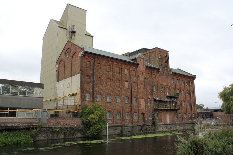Victoria Mill From The Embankment