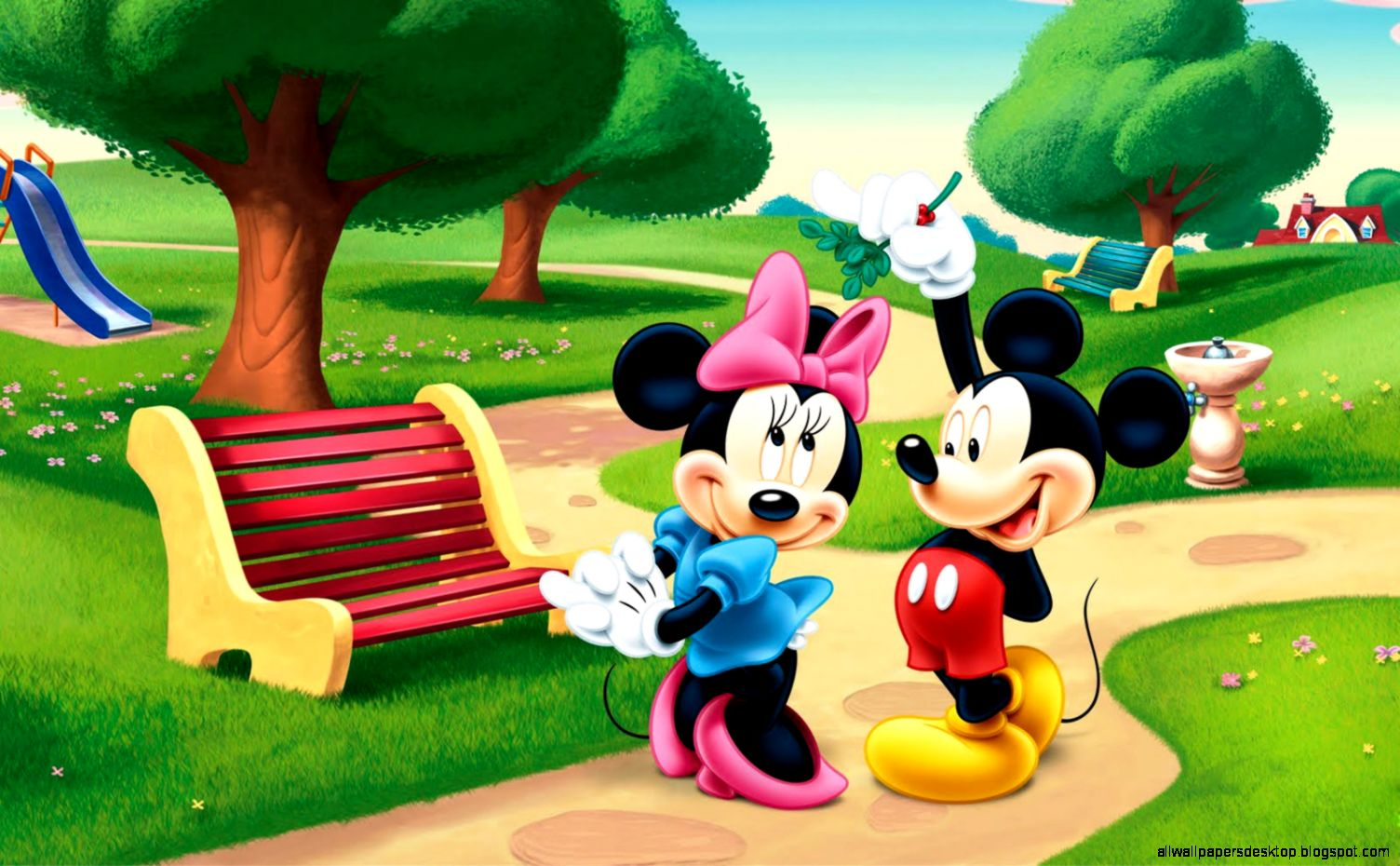 Download   Wallpaper Home Screen Mickey Mouse - mickey-and-minnie-mouse-cartoon-rain-wallpaper-cartoon-hd  You Should Have_834869.jpg