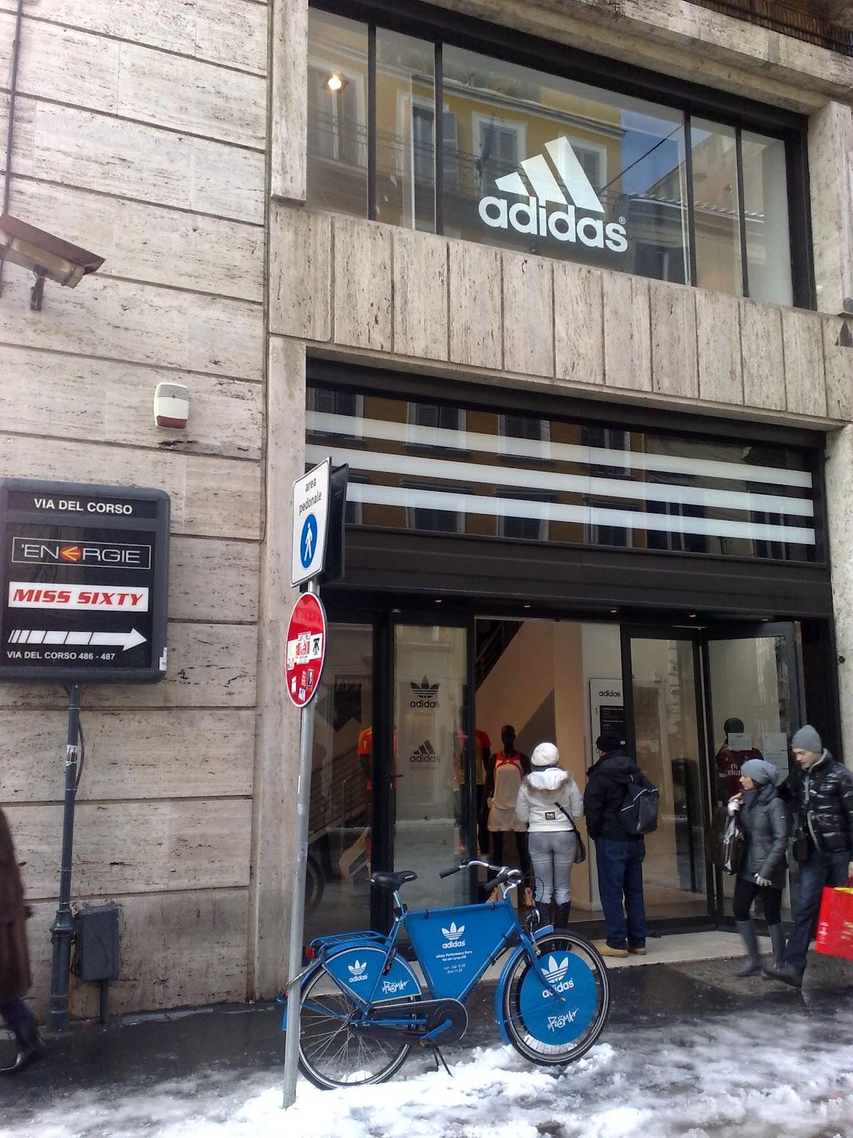 negozi adidas a roma