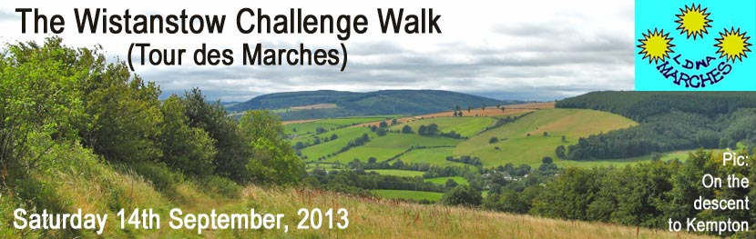 The Wistanstow Challenge Walk