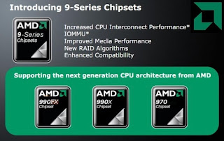 Chipset AMD 9 Series Pasangan Bulldozer