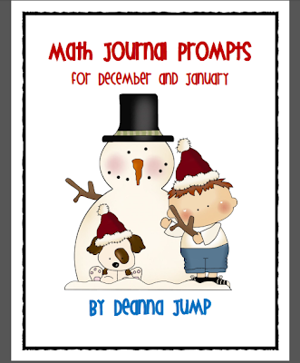 http://www.teacherspayteachers.com/Product/Math-Journal-Prompts-December-and-January-edition-170887