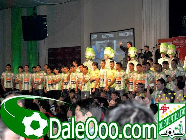 Oriente Petrolero - Presentación equipo 2014-2015 - DaleOoo.com página del Club Oriente Petrolero