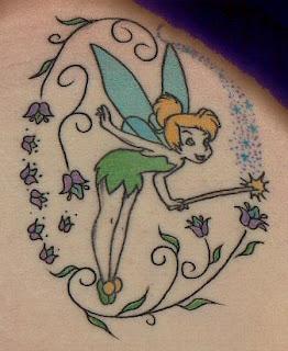 dicas de imagens de Tatuagem da Sininho