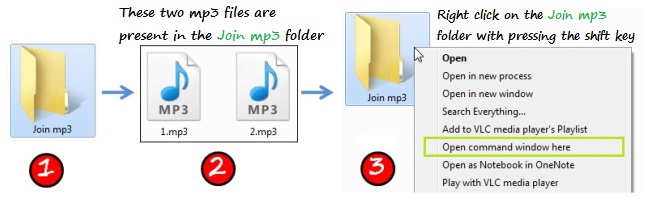 Merge two mp3 files