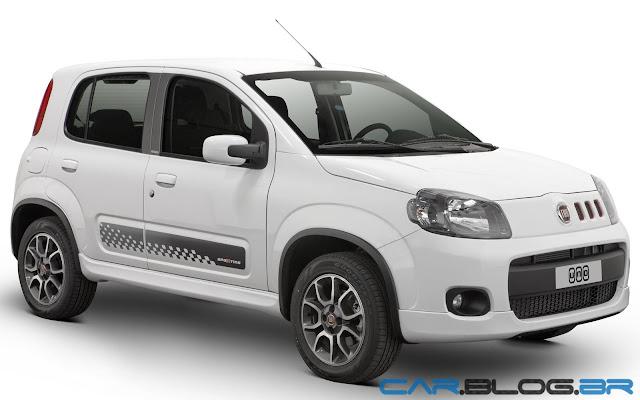 Fiat Uno 2013 Sporting - branco