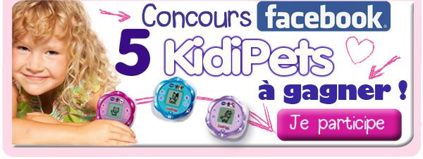 5 KidiPets à gagner