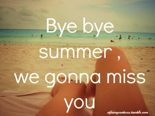 Goodbye Summer Quotes. QuotesGram