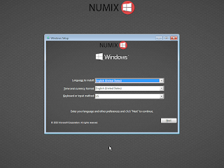 Windows 10 Numix (x86)