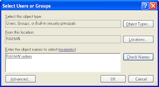 menambahkan user admin