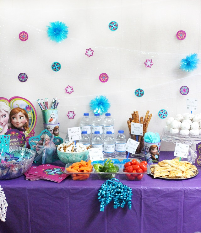 How To Throw The Ultimate Budget Friendly FROZEN Birthday