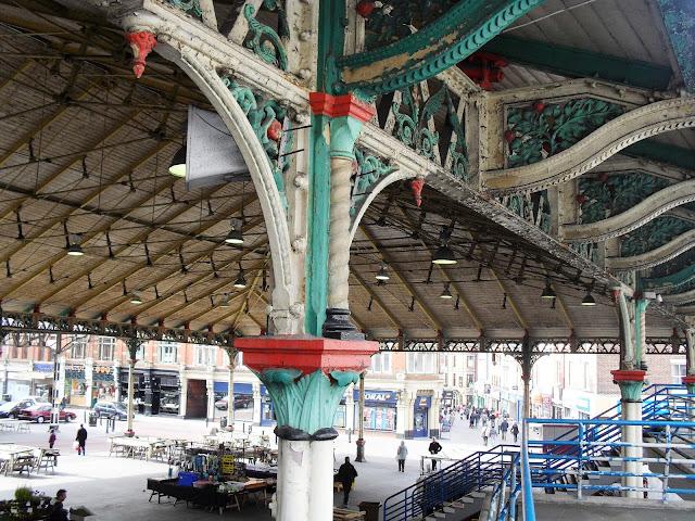 Preston market hall