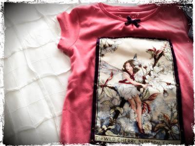 camiseta hada DIY