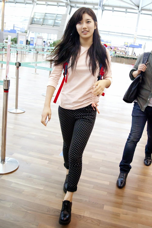 Bae Suzy Airport Fashion