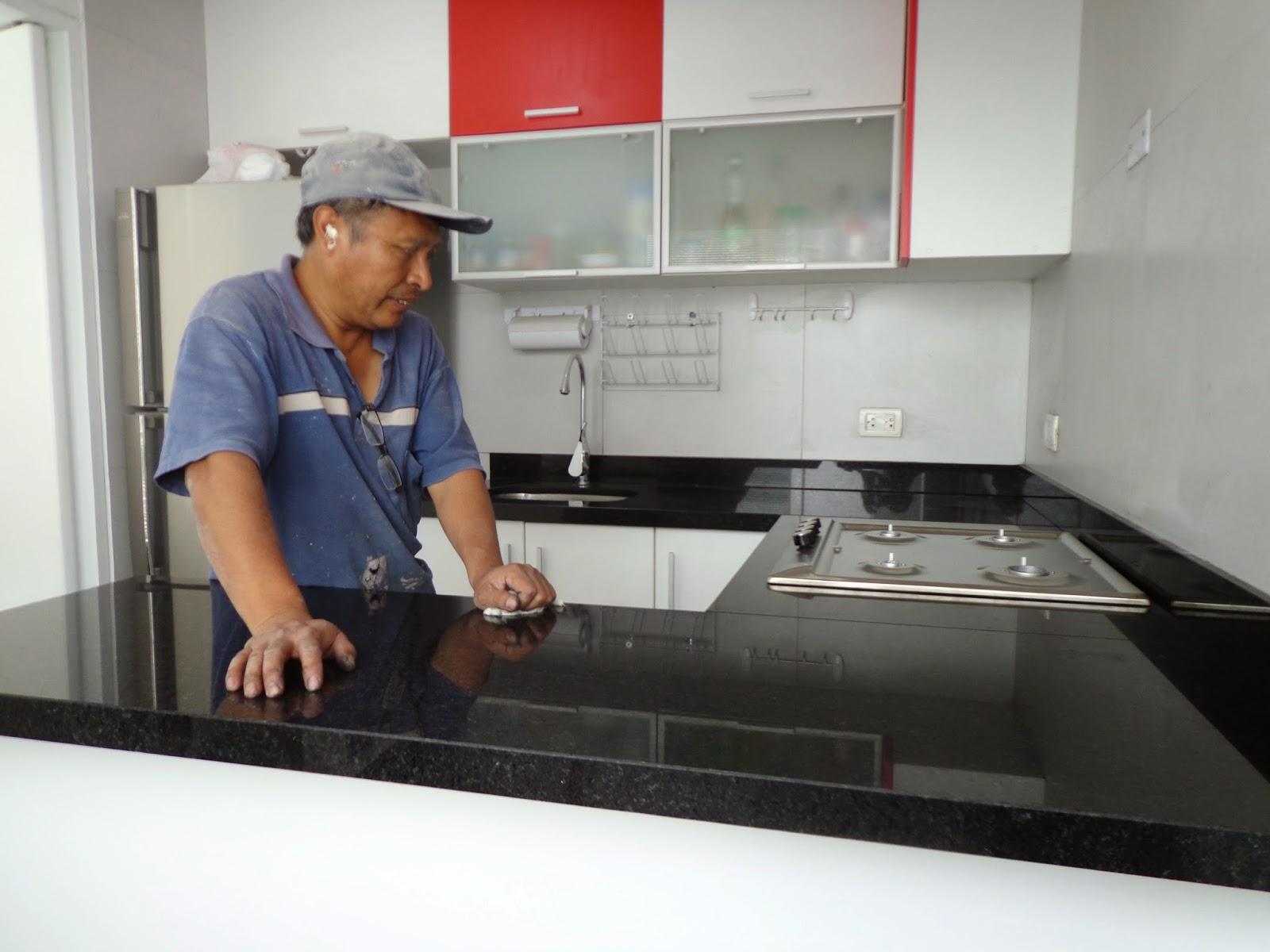 Tableros cocina granito marmol lima for Con que se limpia el marmol blanco