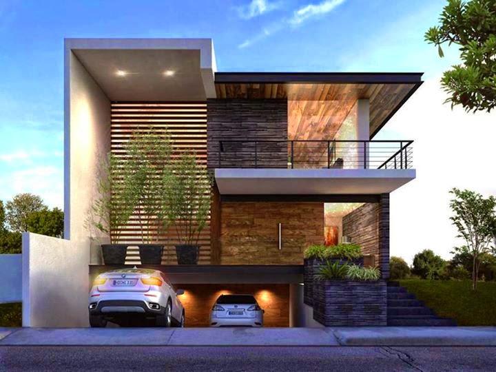 Inspirasi Fasad Rumah Minimalis Modern BP architect