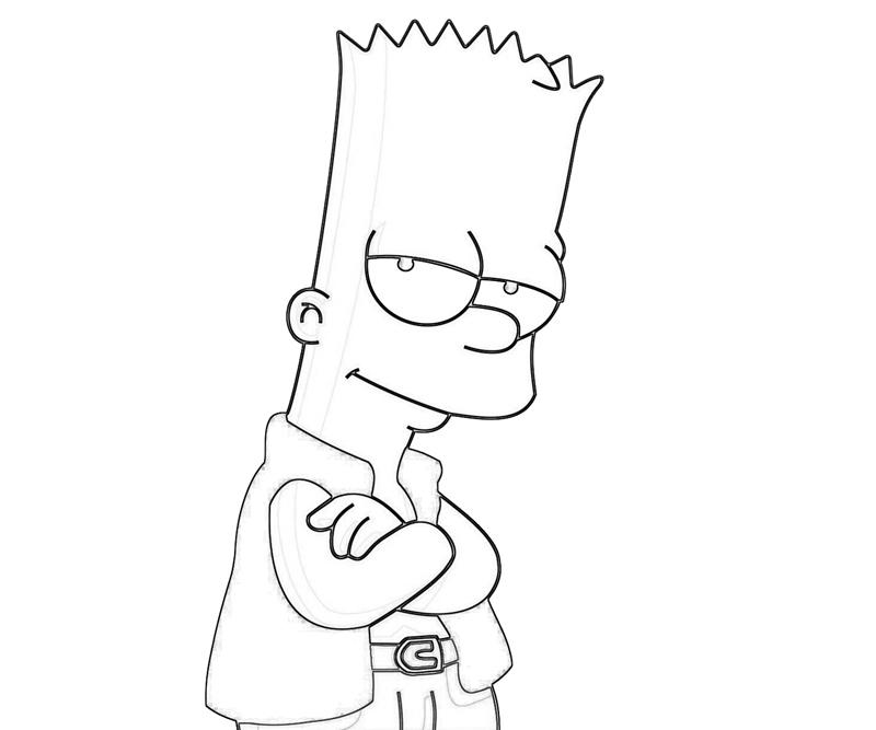 free coloring pages of bart simpson Maggie Simpson Coloring Pages  Bart Simpson Coloring Pages Free