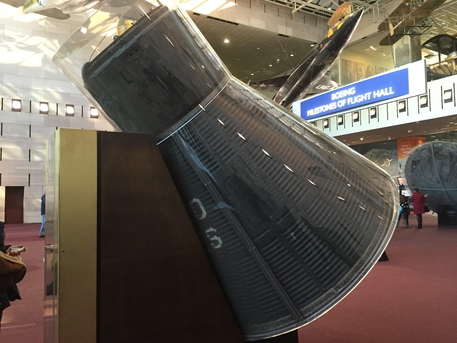 mercury friendship 7 capsule museum