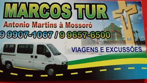 Viaje com Segurança! Antônio Martins á Mossoró RN
