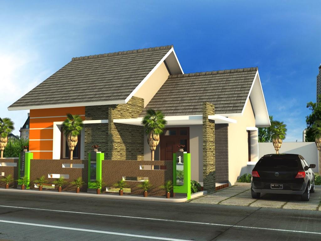 Gambar Desain Rumah Minimalis Type 21 Mungil Dan Modern Desain