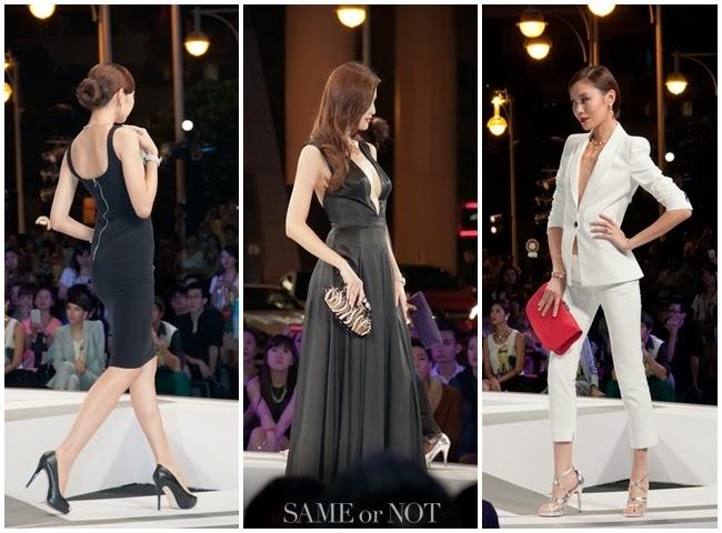 林葦如領軍凱渥名模進行Vogue FNO Taipei走秀活動