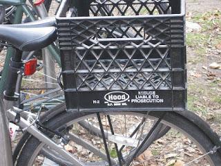 Bike basket hack
