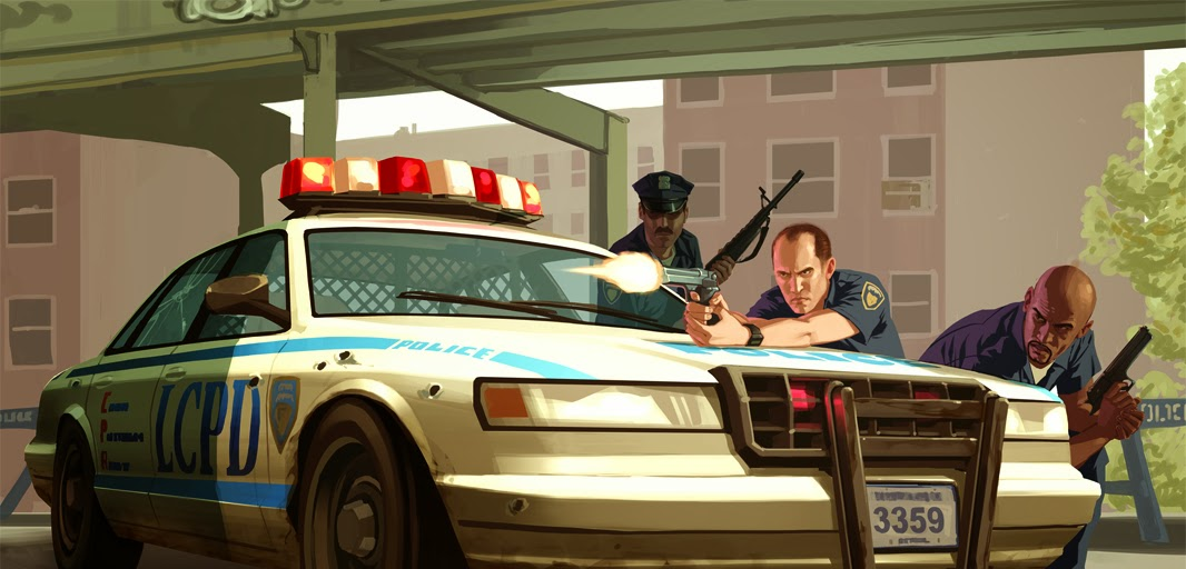 Free Download Grand Theft Auto IV PS2 Game