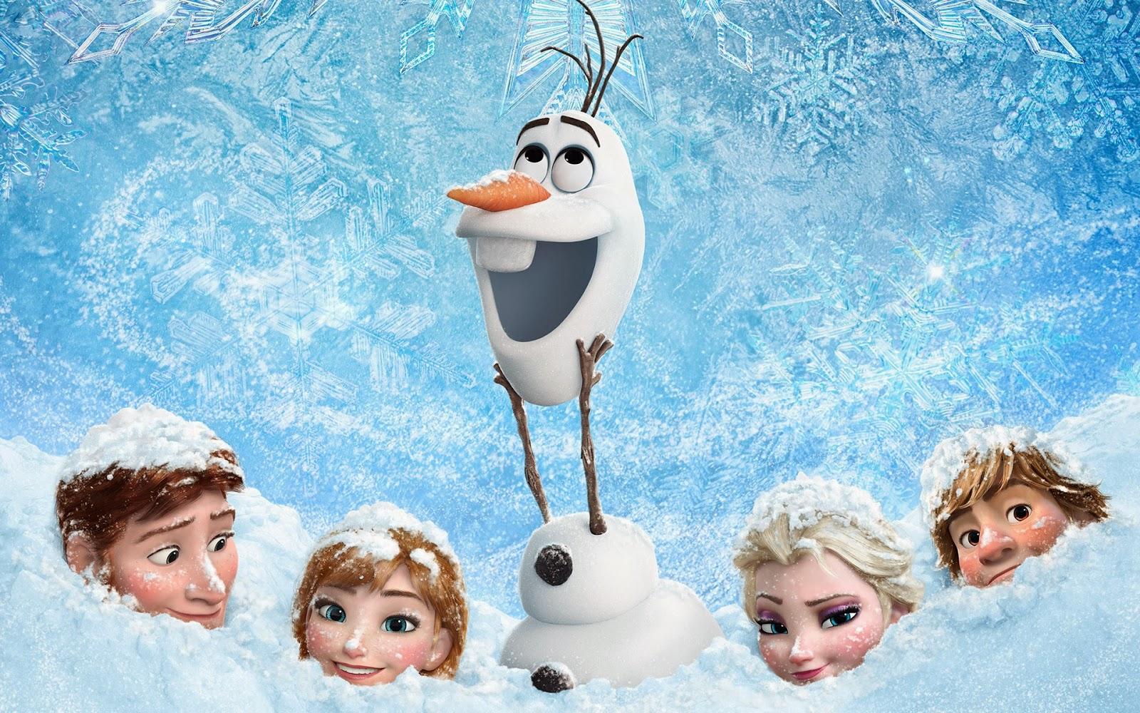 Frozen 2014 3D Animation Movie HD Wallpaper