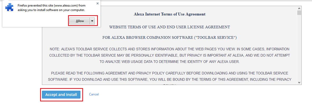 Cara Memasang Alexa Toolbar Di Firefox Dan Crome