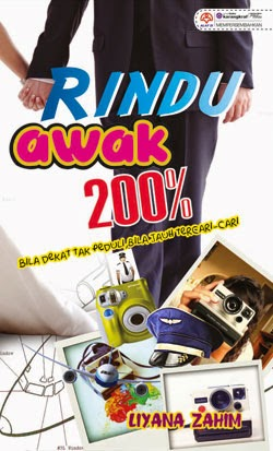 Review Novel Rindu Awak 200