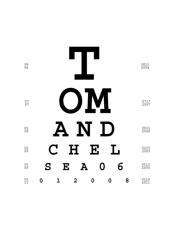 This Fresh Fossil Fun Idea Diy Personal Eye Chart Art