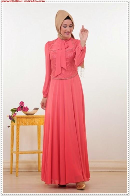 Puane 2014 yazlık tesettür elbise modelleri