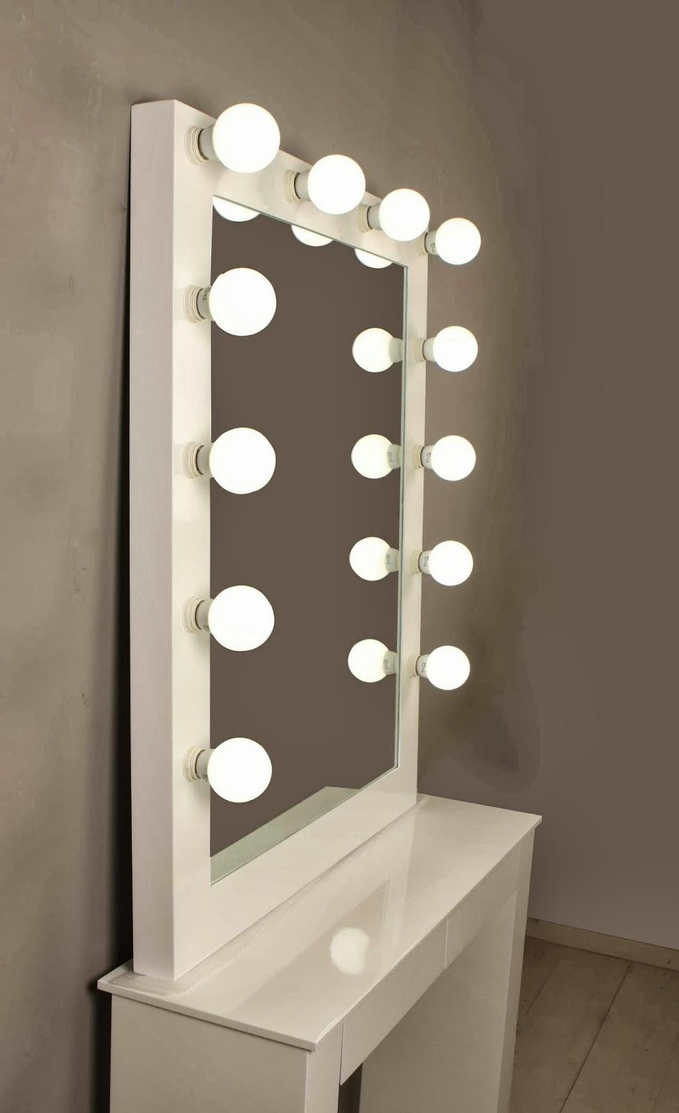 Dekotipo Design Pack Espejo Maquillaje Consola Con Patas ~ Espejos Decorativos Segunda Mano