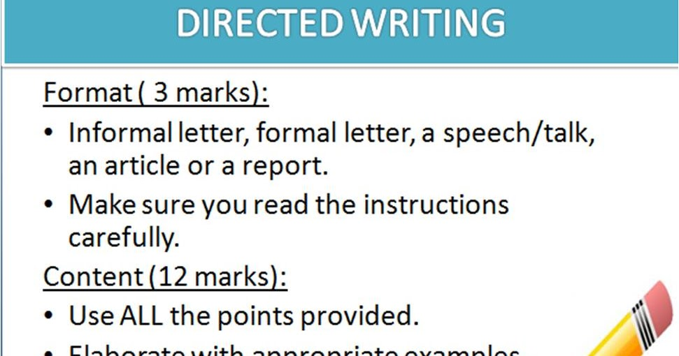 essay writing speech format pmr Spm tips: how to choose essay topics get my hands and fingers will hurt like mad after this essay writing but it will only last for karangan tanpa format.