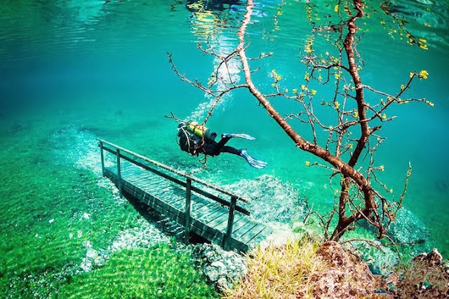 Grüner See (il Lago Verde) - Austria  Greenlake2
