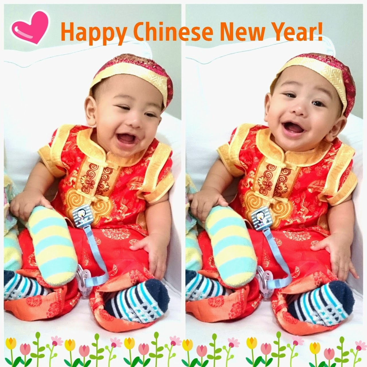 chinese new year baby