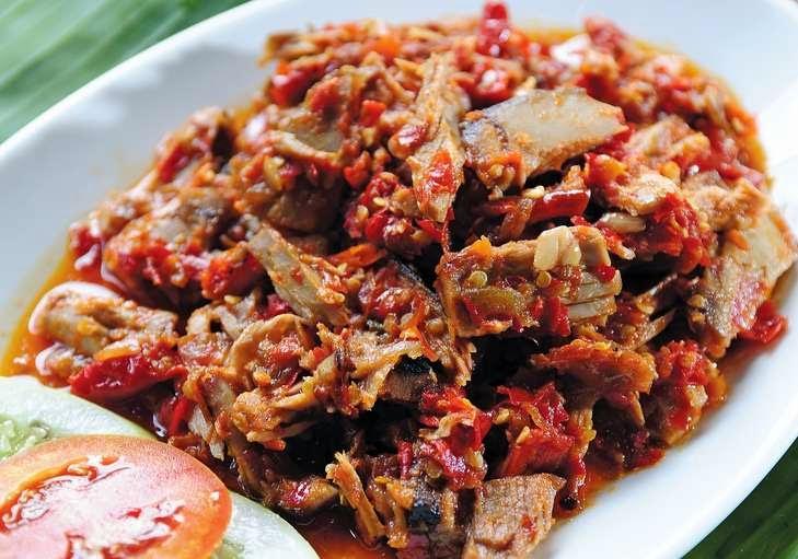 Contoh masakan olahan dari Cakalang Fufu