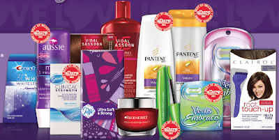 $15 Rebate by Mail When You Buy $50 of P&G Products