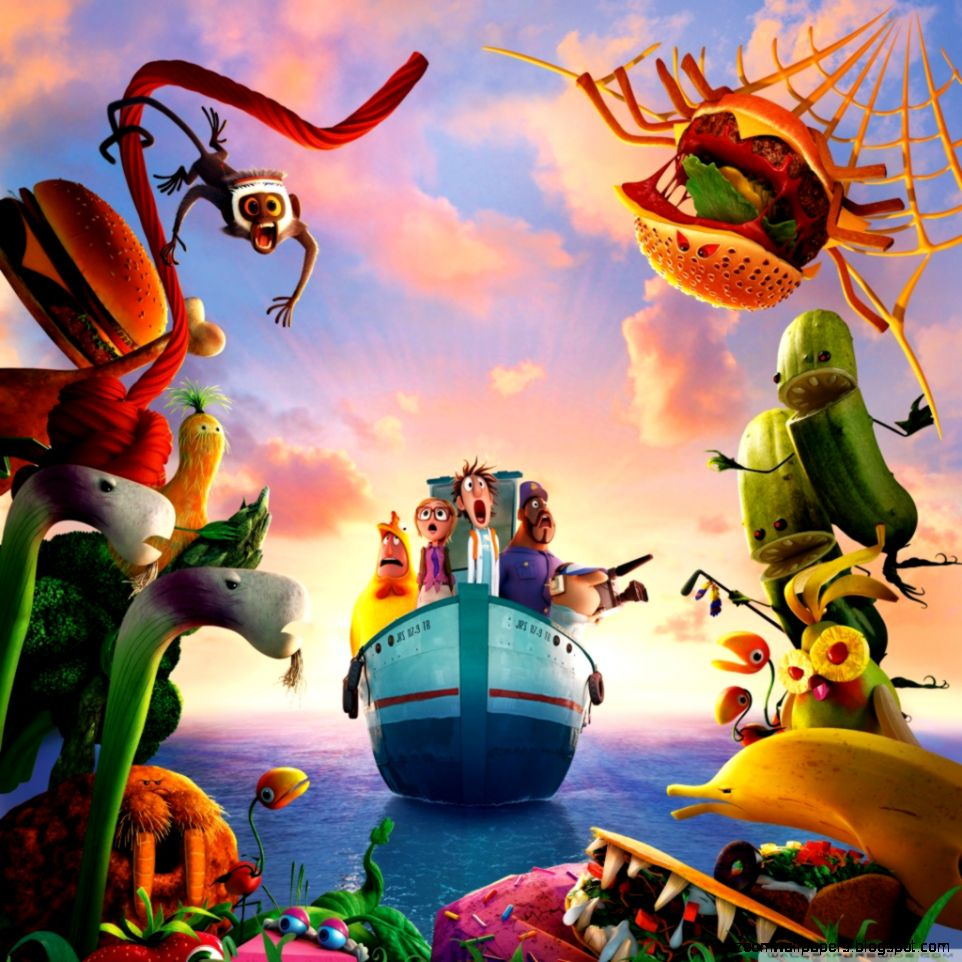 Cloudy With A Chance Of Meatballs 2 Revenge Of The Leftovers HD