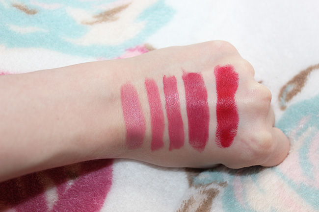 My favourite matte lipsticks and formulations