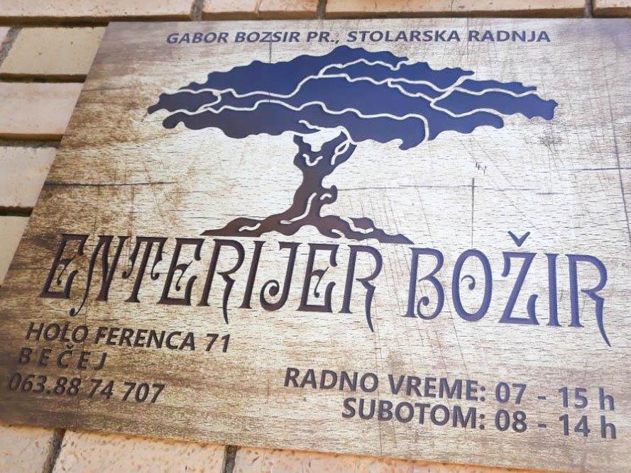 Enterijer Bozir
