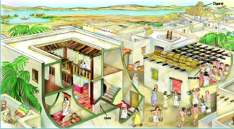 Urbanismos i formas y patrones urbanos egipto Como eran las casas griegas