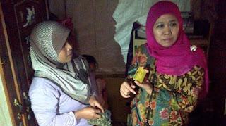 Menteri Khofifah berdialog secara tertutup dengan keluarga korban pencabulan anak