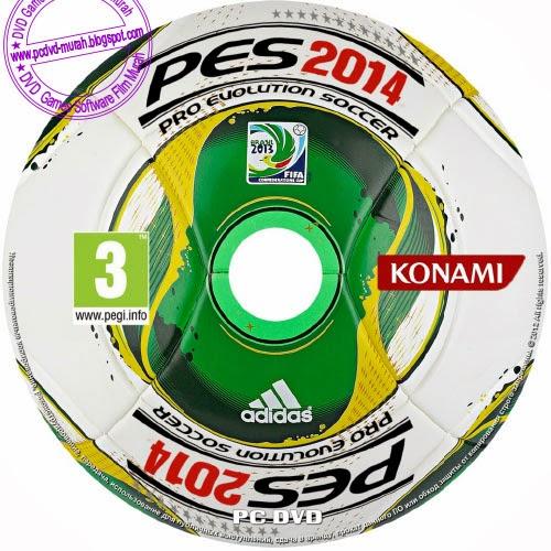 Pro Evolution Soccer 2014 + Pesedit 1.3 - PC DVD MURAH