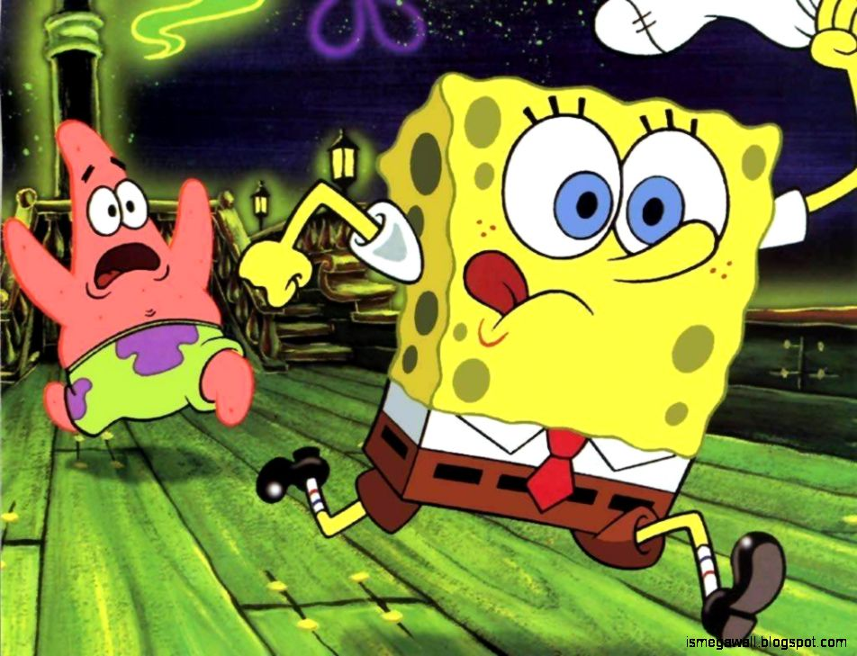 Running SpongeBob SquarePants - SpongeBob SquarePants Wallpaper ...