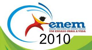 Notas ENEM 2010 em Cristalina Goiás